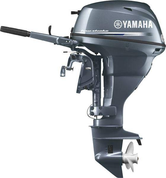 Yamaha f25 25hp 498cc two cylinder four stroke marine for 4 stroke outboard motors