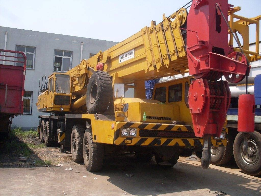 Mobile Crane Engine : Tadano tg m ton mobile crane cheap