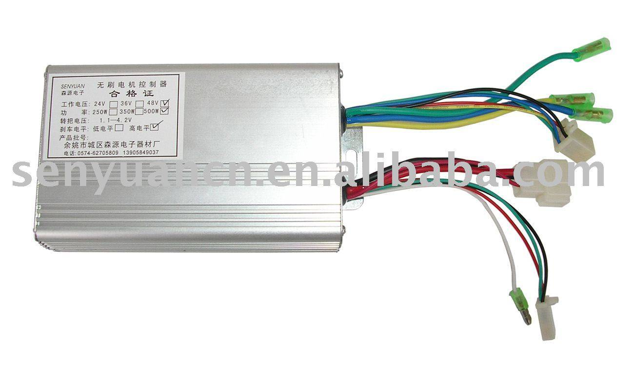 Brushless Dc Motor Controller For Electric Bicycles