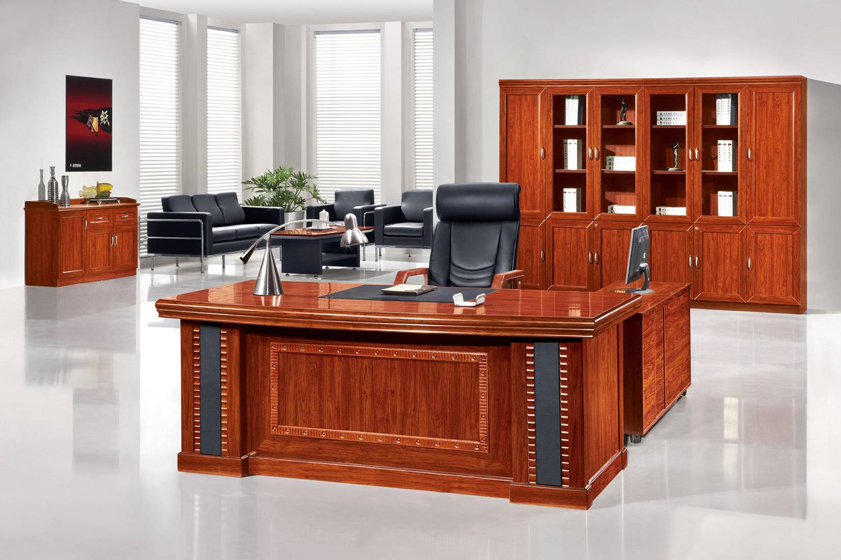 Classic Wooden Office Desk - Foshan Zhenda Furniture Co., Ltd